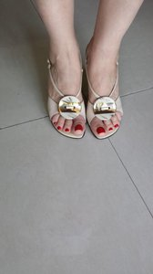 Claudia Ciuti Pump Sandal CREAM Sandals