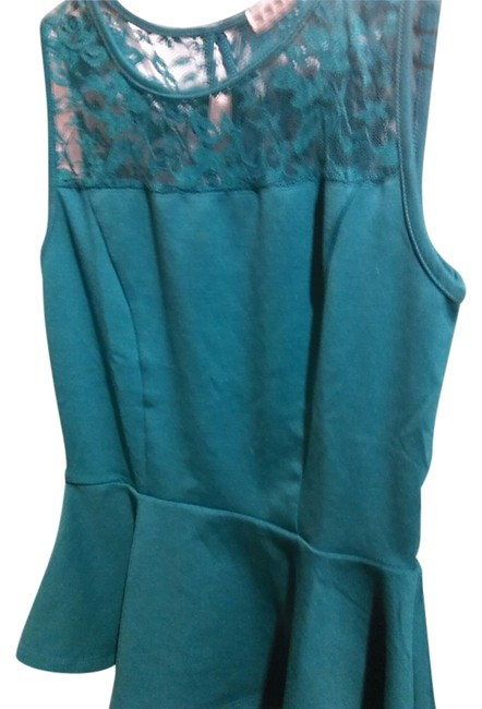 Ambiance Apparel Top Green