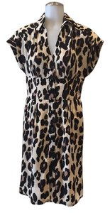 Nanette Lepore short dress Leopard print on Tradesy