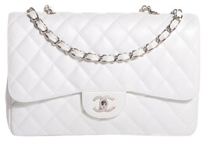 Chanel Classic Caviar Jumbo Flap Shoulder Bag