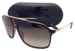 Carrera New Sunglasses CARRERA 81 0KSHA 63-12 Havana & Gold Frame w/ Brown Gradient Lenses