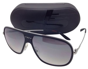 Carrera New Sunglasses CARRERA 88/S ZA1IC 62-12 Silver & Black Frame w/ Gray Gradient Lenses