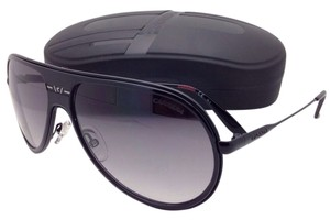 Carrera New Sunglasses CARRERA 89/S GVBEU 61-14 Black Aviator Frame w/Grey Gradient Lenses