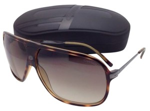Carrera New Sunglasses CARRERA 54 344CC 64-09 Havana Tortoise Aviator Frame w/Brown Gradient Lenses