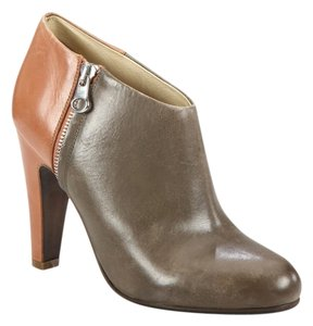 See by Chlo Boot Bootie Ankle Leather Two Tone Boots