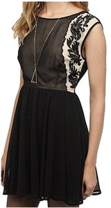 Urban Outfitters short dress Black Embroidered on Tradesy