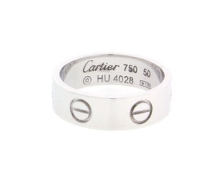 Cartier Cartier Love ring in 18 karat white gold size 49 (USA 4.75)