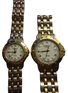 Raymond Weil Two tone Watch Raymond Weil both for Men and Woman.