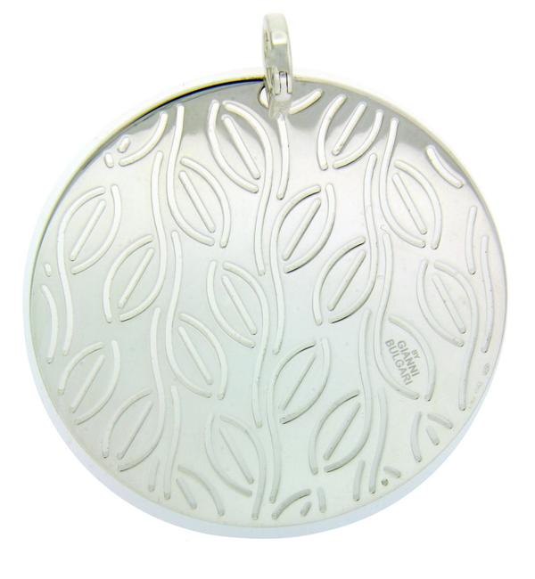 Item - Silver Enigma By Large Round Pendant In Sterling Earrings