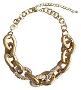 Leslie Danzis Gold and Crystal Link NLNKCZ/G Gold