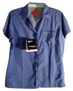 Craig Hoppers Net Mosquitto Proof Button Down Shirt blue violet