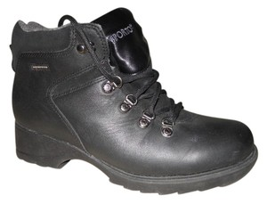 Sporto Leather Insulated black Boots