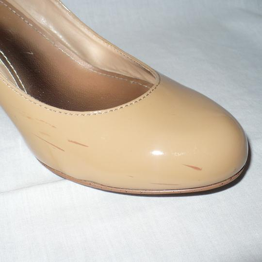 Steve Madden Classic Patent Leather Blush Patent Pumps