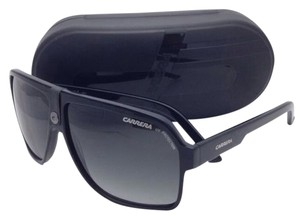Carrera New Sunglasses CARRERA 33/S 807PT 62-11 Black Aviator Frame with Grey Gradient Lenses