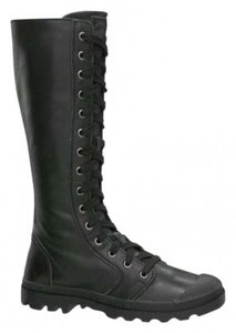 Palladium Parade Leather Black Boots