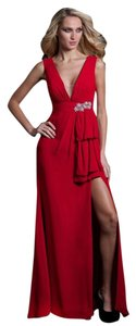 Feriani couture Halter Long Evening Dress
