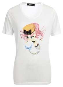 Dsquared2 Sell T Shirt white
