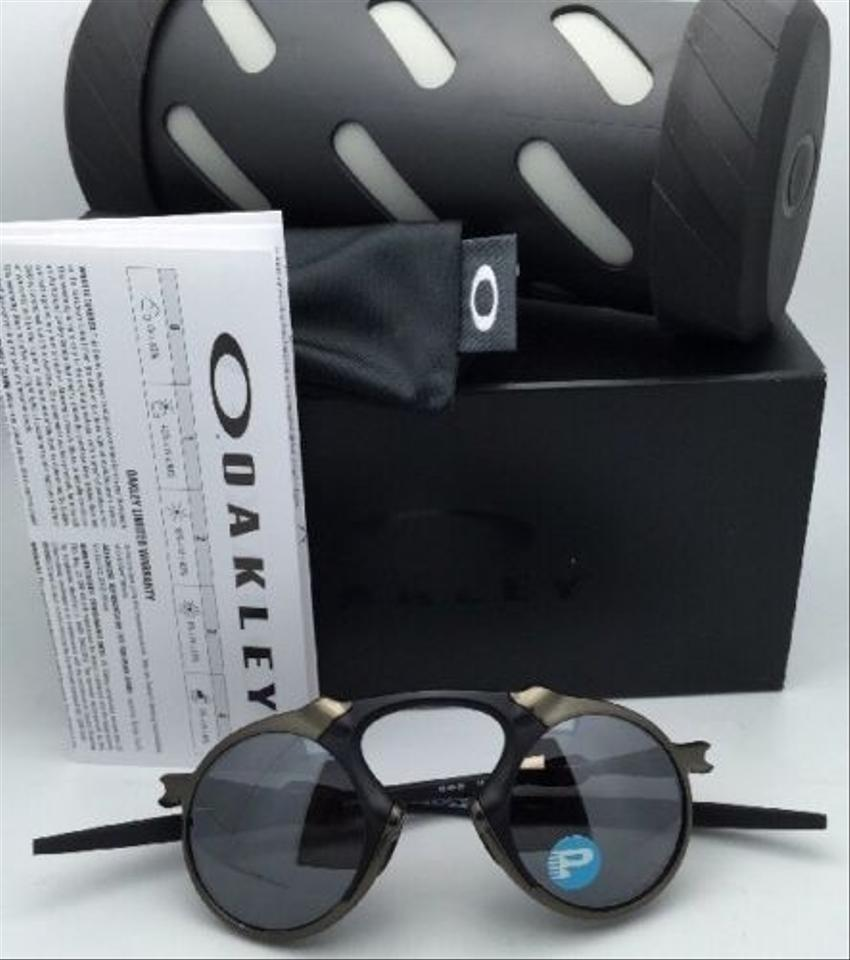 502adf962c3 Oakley Polarized OAKLEY Sunglasses MADMAN OO6019-02 60-21 Pewter Frame w   Black. 12345678