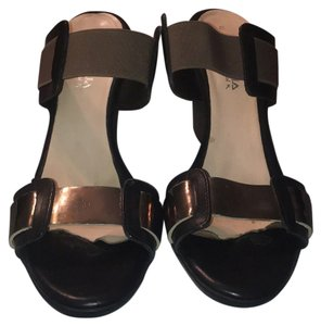 Aquatalia by Marvin K. Black, Tope strap, Grey Luminous strap Wedges