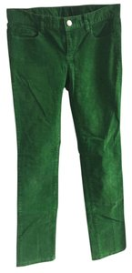 J.Crew Straight Pants Green