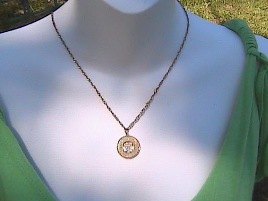 """Other 14k & 10k Yellow Gold """" LOVE """" Diamond Cut Necklace"""
