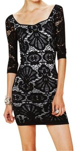 Free People Bodycon Lace Shells Dress