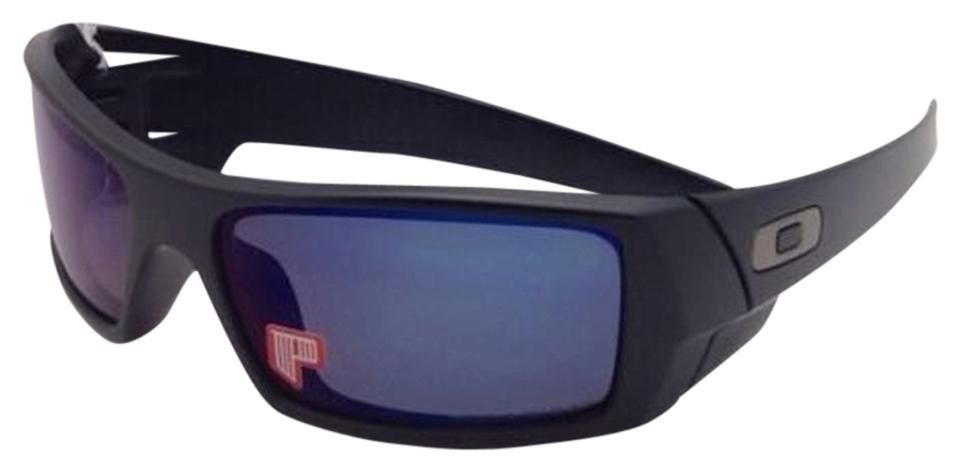 7ecb69ab52 Oakley New OAKLEY POLARIZED Sunglasses GASCAN OO 26-244 Matte Black Frame w  Ice ...
