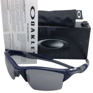 Oakley New OAKLEY Sunglasses HALF JACKET 2.0 XL OO9154-24 Navy Blue Frame w/ Black Iridium lenses