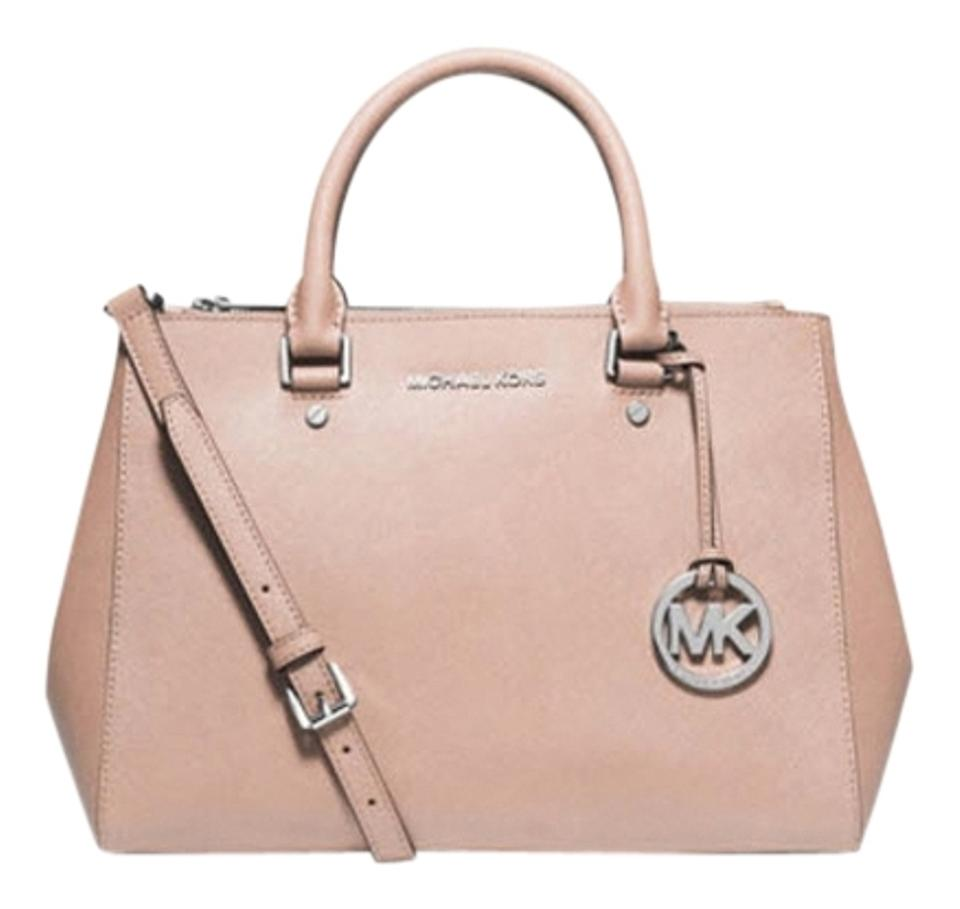 4239ed4c5288 Michael Kors Sutton Medium 30s4stvs96l Ballet Leather Satchel - Tradesy