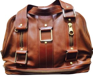 Ted Baker Genuine Leather Brand New Satchel in Brown