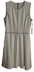 Calvin Klein Sleeveless Color-blocking A-line Dress