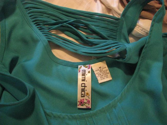 Mimi Chica Top Turquoise