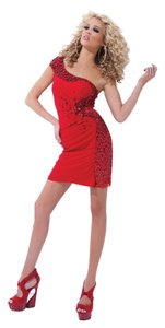 Tony Bowls Toy One Shoulder Dress