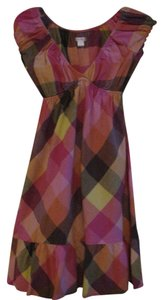 Xhilaration short dress Pink Plaid on Tradesy
