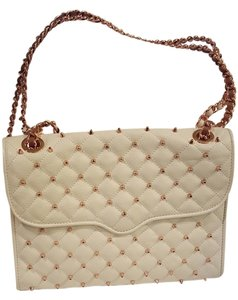 Rebecca Minkoff Leather Studded Shoulder Bag
