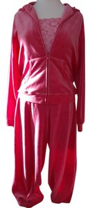 B. Moss 3 Piece Velour Warm up Suit