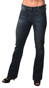 JOE'S Jeans Denim Soft Classic Casual Boot Cut Jeans-Dark Rinse