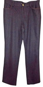 Ralph Lauren Black Label Wool Boot Cut Pants Charcoal Gray