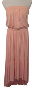 Pale peach Maxi Dress by Boston Proper