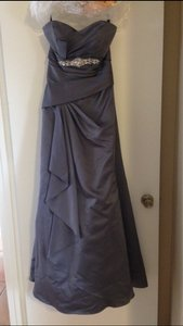 Alfred Angelo Charcoal Gray Unknown Dress