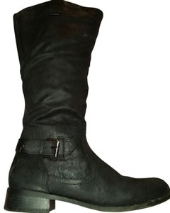 Mossimo Supply Co. Faux Leather Suede black Boots