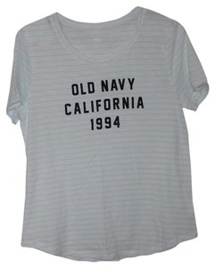 Old Navy Short-sleeve T Shirt Green/White Stripe