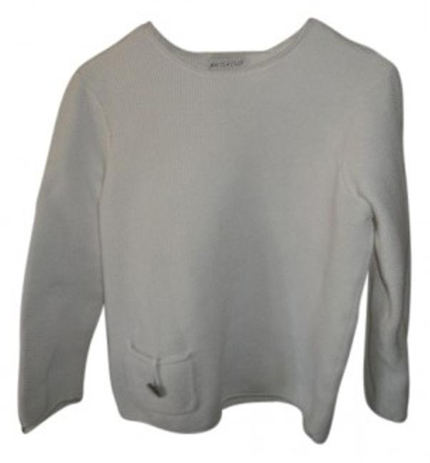 Preload https://img-static.tradesy.com/item/12496/white-stag-knitted-sweaterpullover-size-14-l-0-0-650-650.jpg