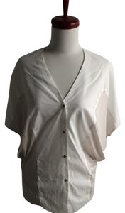 Helmut Lang Button Down Shirt white, beige
