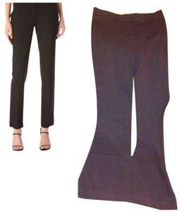 Theory Flare Pants Chocolate Brown