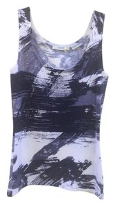 Neiman Marcus Collection 100% Top Abstract Black & white