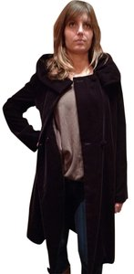 Adrienne Landau Velvet Dressy Formal Trench Coat