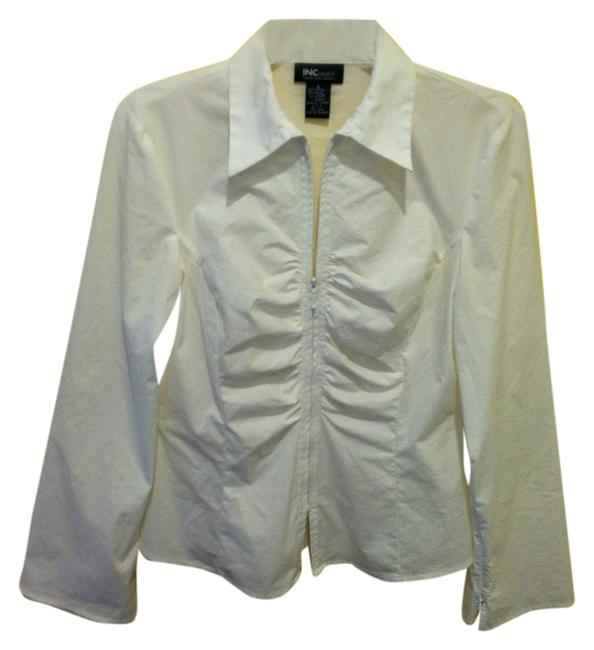 Preload https://item2.tradesy.com/images/inc-international-concepts-white-stretch-blouse-size-8-m-1249771-0-0.jpg?width=400&height=650