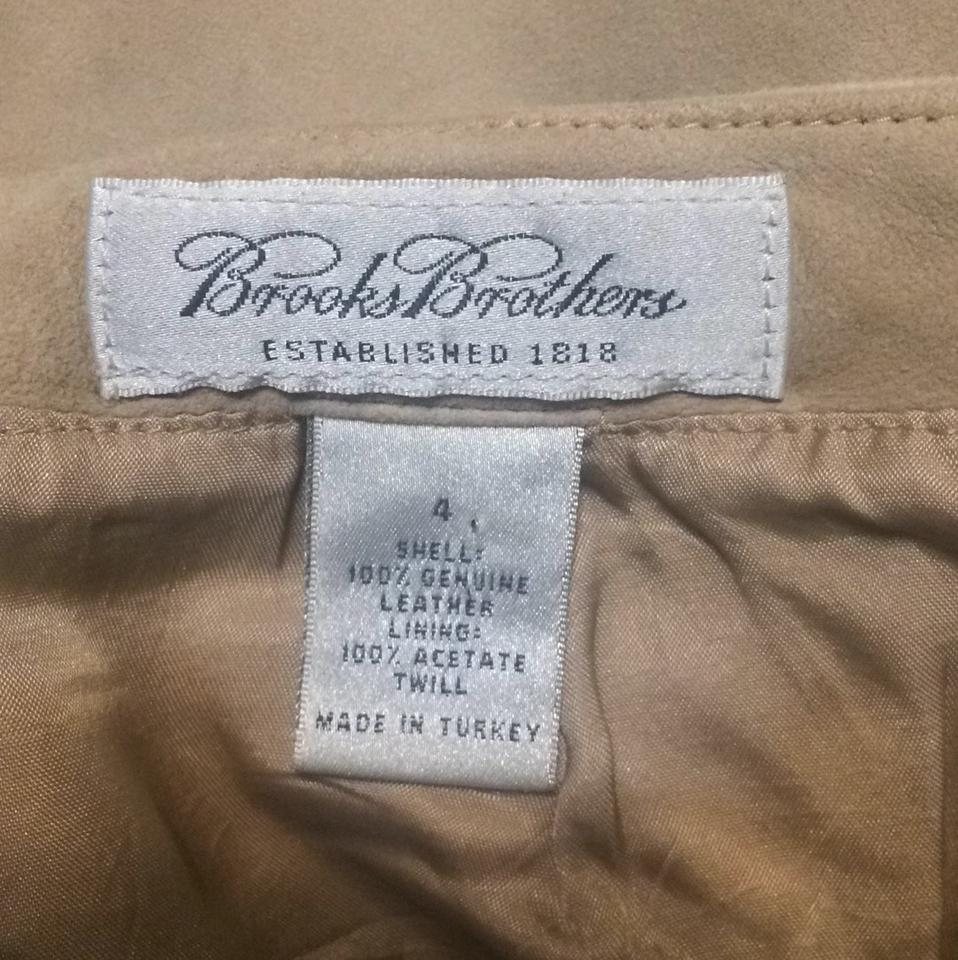 b174052811a Brooks Brothers Nude Tan Vintage Suede Leather Soft Fall Winter ...
