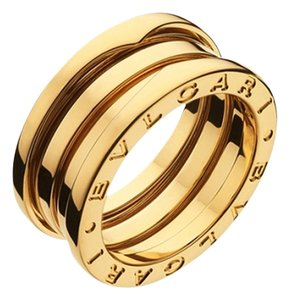 BVLGARI BVLGARI B.ZERO1 RING 3 BAND YELLOW GOLD AN191023 US 6